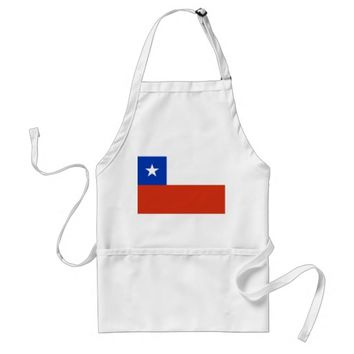 Apron with Flag of Chile