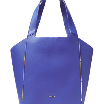 Furla Women's Audrey Medium North/South Tote - Blue
