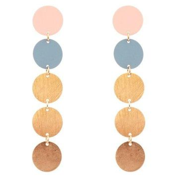 Tulum Pastel Raindrop Earrings