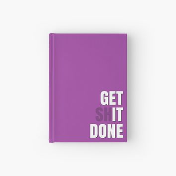 'Get It Done' Hardcover Journal by Sarah Davies