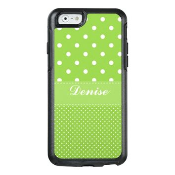 Cute Polka Dots OtterBox iPhone 6/6s Case
