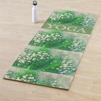 Lilies Of The Valley Yoga Mat