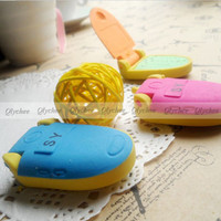 New Kawaii Korean Stationery Stationary Cell Phone Rubber Pencil Eraser Erase