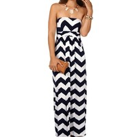 Sale-chevron Maxi Dress