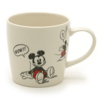 Mickey Mouse Comic Strip Mug | Disney Store