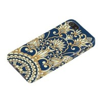 Retro Damask Pattern Hard Case Cover iPhone 5S / 5