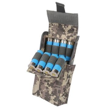 ICIK272 Waterproof Anti-corrosion 12G Bullets Package Hunting Shells Package CS Field Portable Outdoor 25-Hole Bullet Bags