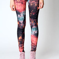 Kaera Galaxy Print Leggings