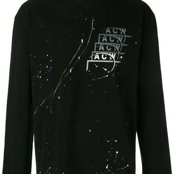 Paint Splatter Crewneck by A-COLD-WALL*