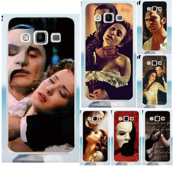 Suef The Phantom Of The Opera TPU Protective Case For Galaxy Alpha Core Prime Note 2 3 4 5 S3 S4 S5 S6 S7 S8 mini edge Plus