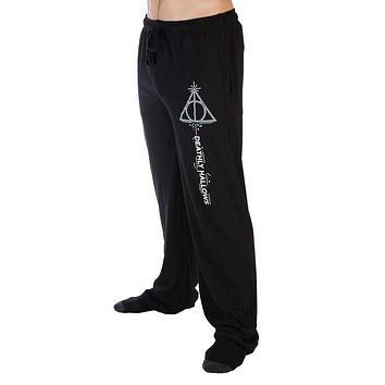 Harry Potter Deathy Hallows Sleep Lounge Pants