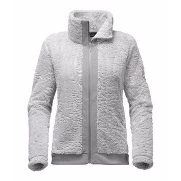 Women's Furry Fleece Full Zip Jacket in High Rise Grey by The North Face