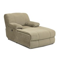 Kensington Reclining Chaise Lounge by Morris Home Furnishings at Morris Home Furnishings