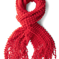 Fifty Yard Fine Scarf in Red | Mod Retro Vintage Scarves | ModCloth.com