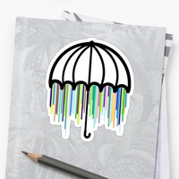 'Brella' Sticker by GriffyGallery