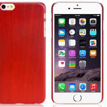 Wood Grain Plastic Case for iPhone 6\6s