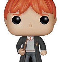 FunKo - Funko POP Movies: Harry Potter Ron Weasley Action Figure