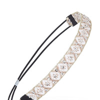 Sequin Diamond Pattern Headband