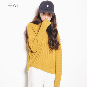 Knit Tops Winter Korean Slim High Neck Sweater [9022907719]