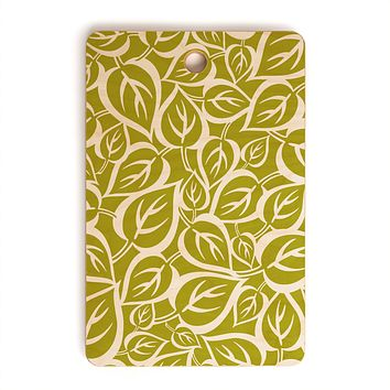 Heather Dutton Falling Foliage Cutting Board Rectangle