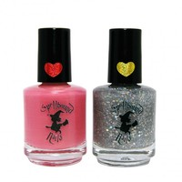 Spellbound Nails Nail Polish Duo in My Own Sweet Valentine & Here Comes the Smolder | Gloss48 | Gloss48