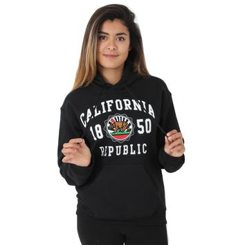 California Republic 1850 Emblem Sweatshirt Hoodie