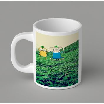 Gift Mugs | Stoner Adventure Time Ceramic Coffee Mugs