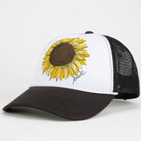 O'neill Sunflower Womens Trucker Hat Black/White One Size For Women 25104812501