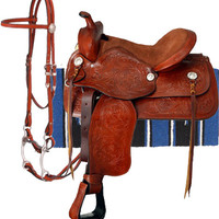 Saddles Tack Horse Supplies - ChickSaddlery.com King Series Leather Saddle Package