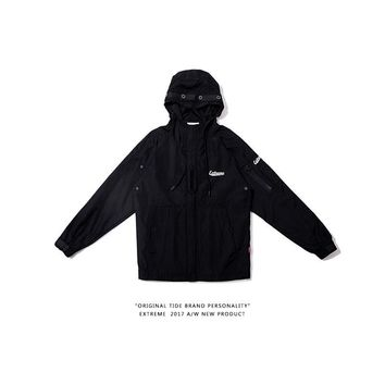 Zippers Jacket Unisex Hats Windbreaker [350389731364]