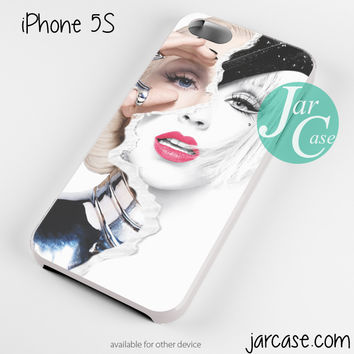 Christina Aguilera Cover Phone case for iPhone 4/4s/5/5c/5s/6/6 plus