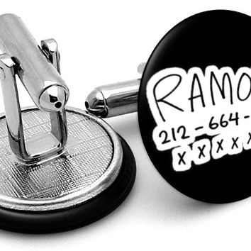 Scott Pilgrim Ramona Phone Cufflinks