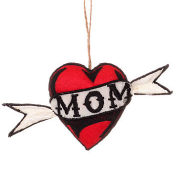 Love Yo Momma Tattoo Ornament