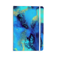 "Nina May ""Salten Sea"" Blue Teal Everything Notebook"