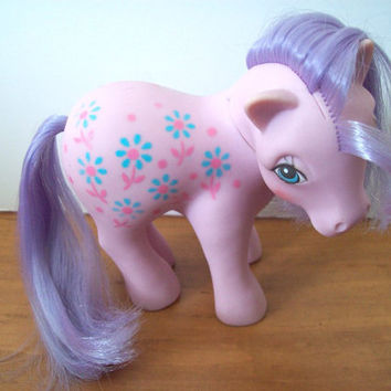 Vintage My Little Pony G1 Mommy Bright Bouquet - nice shape