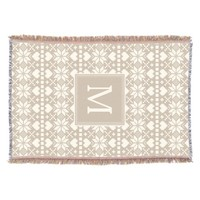 Nordic   Holiday Throw Blanket
