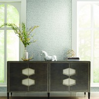 Chateau Wallpaper in Grey from Masterworks Collection by Ronald Reddin – BURKE DECOR