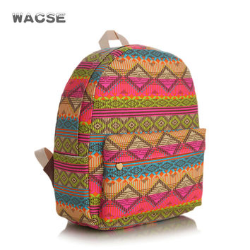 Fashion Canvas Casual Thicken Stylish Backpack = 4887775428