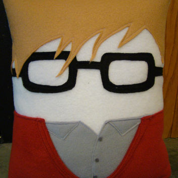 Portrait pillow, Patrick stump, fall out boy, pillow, plush, cushion