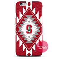 Stanford Cardinal PD Tribal iPhone Case 3, 4, 5, 6 Cover