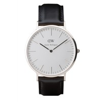 Daniel Wellington - Men classic sheffield Silver Watch  - ModaVee