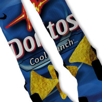Doritos Cool Ranch Custom Nike Elite Socks
