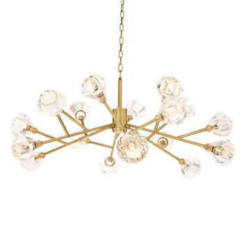 Antique Brass Chandelier | Eichholtz Fango
