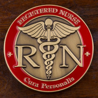 Registered Nurse Challenge Coin