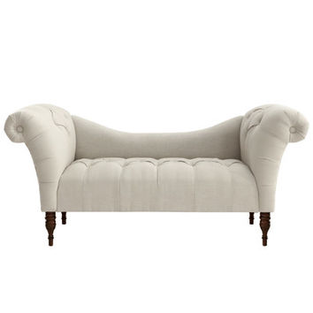 Skyline Furniture Linen Chaise Lounge & Reviews | Wayfair