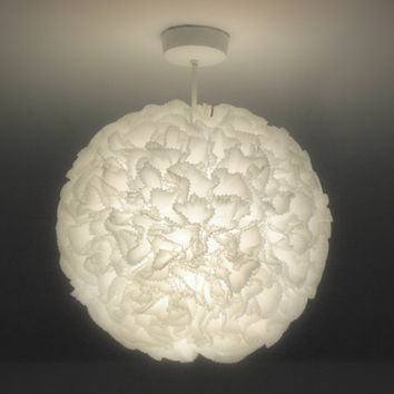 Lace-Like Paper Globe. Lantern. Light Shade. Extra LARGE SIZE.
