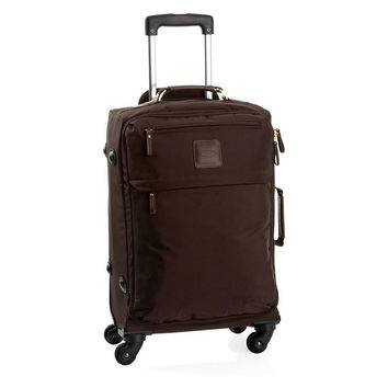 "OKL Exclusive 20"" Carry-On, Espresso, Trolleys"