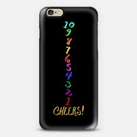 Cheers Countdown Multicolor iPhone 6s case by Lisa Argyropoulos | Casetify