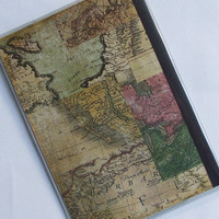 PASSPORT COVER - Vintage Maps