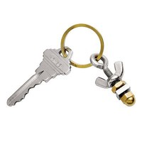 """""""I'M NUTS ABOUT YOU"""" KEY RING   Nut & Bolt Keychain   UncommonGoods"""